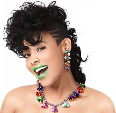 "CEO @KeyshiaKaoir of KA'OIR Cosmetics wearing the color ""JAMAICA"".  You can purchase this and get 10% Off by using #kaoircode ""MELISSA10"""