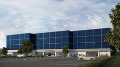 3dcommercial rendering glass building. #Creative3DRendering