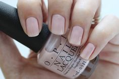 OPI Soft Shades Put It In Neutral Pink Nude Cream Nail Polish Swatch
