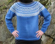 Bilderesultat for rundstrikk Pullover, Sweaters, Pattern, Fashion, Moda, Fashion Styles, Sweater, Sweater, Patterns