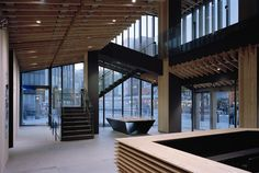 Asakusa Culture Tourist Information Center / Kengo Kuma and Associates © by Takeshi YAMAGISHI #timber #architecture