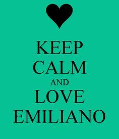 i mean Emiliano Giambelli, of course...:) Emis Killa, I love all his songs!