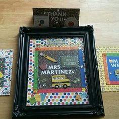Made by me! Teacher gifts! #crafts #craft #hobbie #handmade #gift #handmadegifts #teacher #school