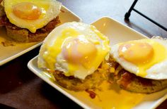 Southern-Style Eggs Benedict - This easy breakfast recipe is perfect for breakfast in bed!