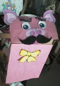 1000 images about paper bag crafts for kids on pinterest for The three little pigs puppet templates