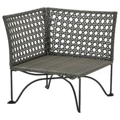SOLLERÖN One-seat section, outdoor, dark gray - IKEA Ikea Outdoor, Outdoor Sofa, Outdoor Cushions, Seat Cushions, Outdoor Furniture, Plein Air Ikea, Ikea Exterior, Wood Supply, Ikea Family