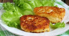 Light and crispy fish cakes