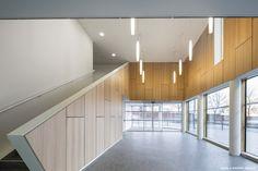 Tubitos suspendidos - PRD Office Building / Fassio-Viaud Architectes