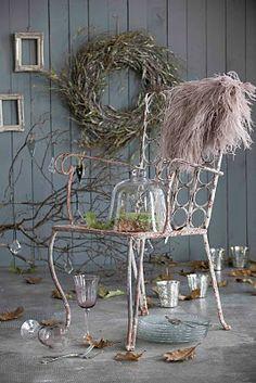 Estilo Nordico: Inspiración Navideña - Estilo Nordico en la revista Interiores                Sencillamente  hermoso