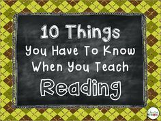 Teach Your Child to Read - Education to the Core: 10 Things You Have To Know When You Teach Reading. FABULOUS list of strategies for grades Give Your Child a Head Start, and.Pave the Way for a Bright, Successful Future. Reading Lessons, Reading Activities, Reading Skills, Guided Reading, Teaching Reading, Teaching Ideas, Reading Tips, Teaching Tools, Teaching Methods