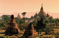 Bagan in Myanmar (Burma) (Thanks for the correction, Kristen! Travel News, New Travel, Luxury Travel, Travel Guide, Bagan, Mandalay, Angkor, Places To Travel, Places To See