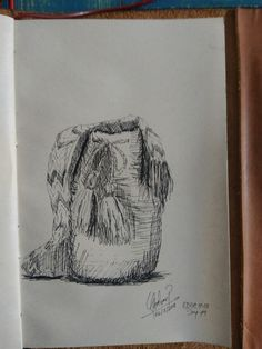 Mochila Wayuu. Everyday Drawing Challenge Day 19
