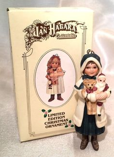 Jan Hagara Collectables Limited Edition Christmas Ornament Anne | eBay