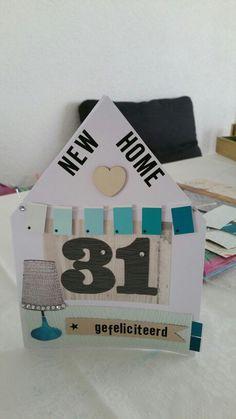 Nieuwe woning / nieuw huis