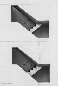 Minimalist Photography, Minimalism, Minimal,  Staircase, stairs, geometry, architecture photography, black and white, monochrome, photography, artwork, artist, gifts, home decor, design, craft, apartment, two, pair