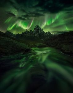 Temple of Night by Marc  Adamus #xemtvhay