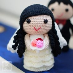 blossoming love | wedding dolls