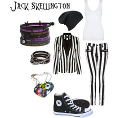 Cosplay - Jack Skellington (Female)