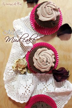 Muffin mud cake