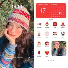 Iphone Home Screen Layout, Iphone App Layout, Iphone App Design, Iphone 3, Iphone Wallpaper App, Kawaii Wallpaper, Phone Themes, Phone Organization, Organization Ideas