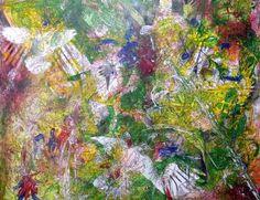 """Saatchi Art Artist Igor Eugen Prokop; Painting, """"33.BERLIN  13.  THE  HAWK,THE  DOVE,ME AND THE FREEDOM."""" #art"""
