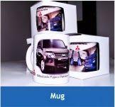 Mug Promosi   Barang promosi unik dengan bahan acrilyc yang menawan. Warna dasar putih, namun bisa kustom. Tertarik hubungi (0274)828 5208