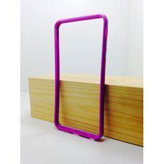 iPhone - Силиконовый бампер - iPhone 6 Plus Малиновый