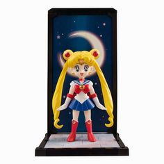 BLOG DOS BRINQUEDOS: Sailor Moon Tamashii Buddies Mini-Statue