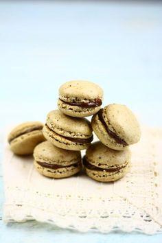 Az élet napos oldala: Kávés macaron kardamomos tejcsokoládé ganache-sal