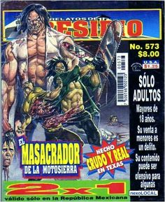 Mexican horror magazines