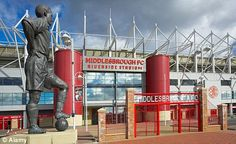 MIDDLESBROUGH FC STADIUM - RIVERSIDE