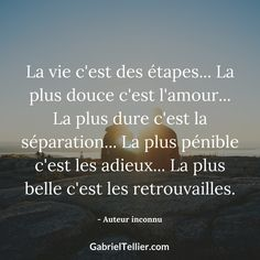 The most beautiful stage of life is the reunion Belle Quotes, Love Quates, Plus Belle Citation, Quote Citation, Self Massage, French Quotes, Good Thoughts, Good Mood, Texts
