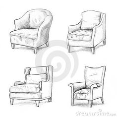 - Couch Drawing - Interior Design - - www. Sofa Drawing, Drawing Furniture, Furniture Sketches, Drawing Room, Drawing Interior, Interior Design Sketches, Chair Design, Furniture Design, Smart Furniture