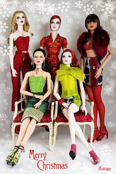 Amazing Ooak Chase Modeling Agency Ava Repaint Tonner Closed Repaints Rare Cool In Summer And Warm In Winter Dolls Fashion, Character, Play Dolls