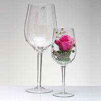 Le Verre à Vin Géant XXL Vase ou Photophore | Décoration de table mariage…