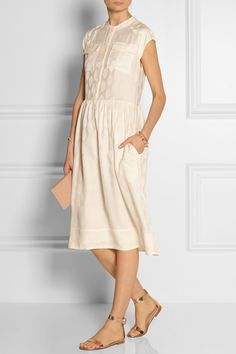 Paul & Joe | Bayadere silk-jacquard dress | NET-A-PORTER.COM