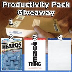 Sidekick Productivity Giveaway
