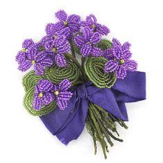 Nostalgia Beadwork Kits Beaded Violets | Nostalgia Kits