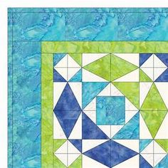 GO! Storm at Sea Quilt Pattern