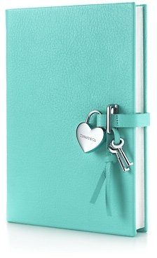 Tiffany & Co. - Heart lock diary in Tiffany Blue® grain leather. More colors available. from Tiffany & Co. Saved to Open Book. Tiffany E Co, Verde Tiffany, Tiffany Jewelry, Tiffany Outlet, Tiffany Blue Box, Pierre Turquoise, Shades Of Turquoise, Shades Of Blue, Turquoise Color