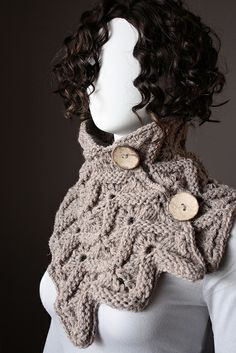 Knitting PDF pattern , knitted scarf pattern, winter chunky scarf | Flickr - Photo Sharing!