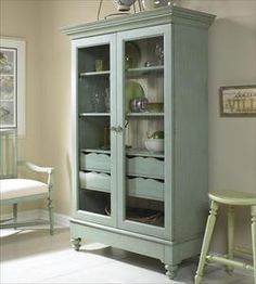 Summer Home Display Cabinet