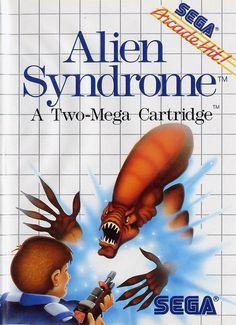 Les pires illustrations de boîtes de l'histoire du jeu vidéo : Alien Syndrome sur Sega Master System