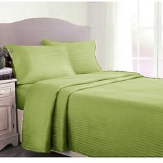 Couture Home 400 Thread Count Twin Sheet Set