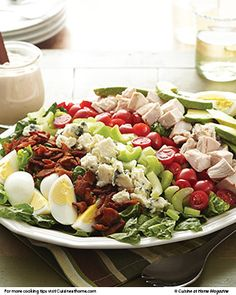 Cobb Salad | Cuisine at home eRecipes