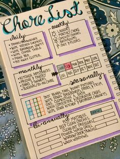 13 Brilliant Bullet Journal Cleaning Schedule Ideas ⋆ The Petite Planner Bullet Journal 2019, Bullet Journal Notebook, Bullet Journal Inspo, Bullet Journal Ideas Pages, Bullet Journal Layout, Journal Pages, Bullet Journal Grocery List, Bullet Journal Ideas How To Start A, Bullet Journal Front Page