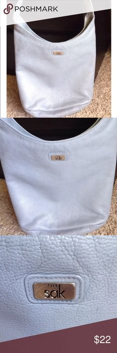 The Sak leather handbag Good condition leather Grey handbag The Sak, see pictures for measurements) The Sak Bags Shoulder Bags