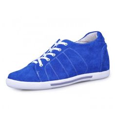 Buy discount Blue men increasing casual shoes get tall 6.5cm / 2.56inches with the SKU: MENJGL_A882 at Tooutshoes online store