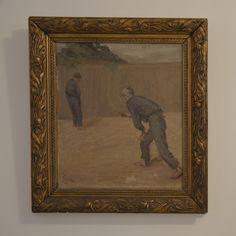 Fin oljemålning med förgylld ram Painting, Vintage, Art, Art Background, Painting Art, Kunst, Paintings, Vintage Comics, Performing Arts
