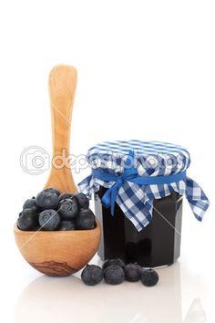 Borůvkový džem — Stock obrázek #3535280